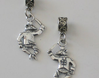 Sterling MOUSE KING Bead Charm for all Name Brand Add a Bead Bracelets- Nutcracker Ballet