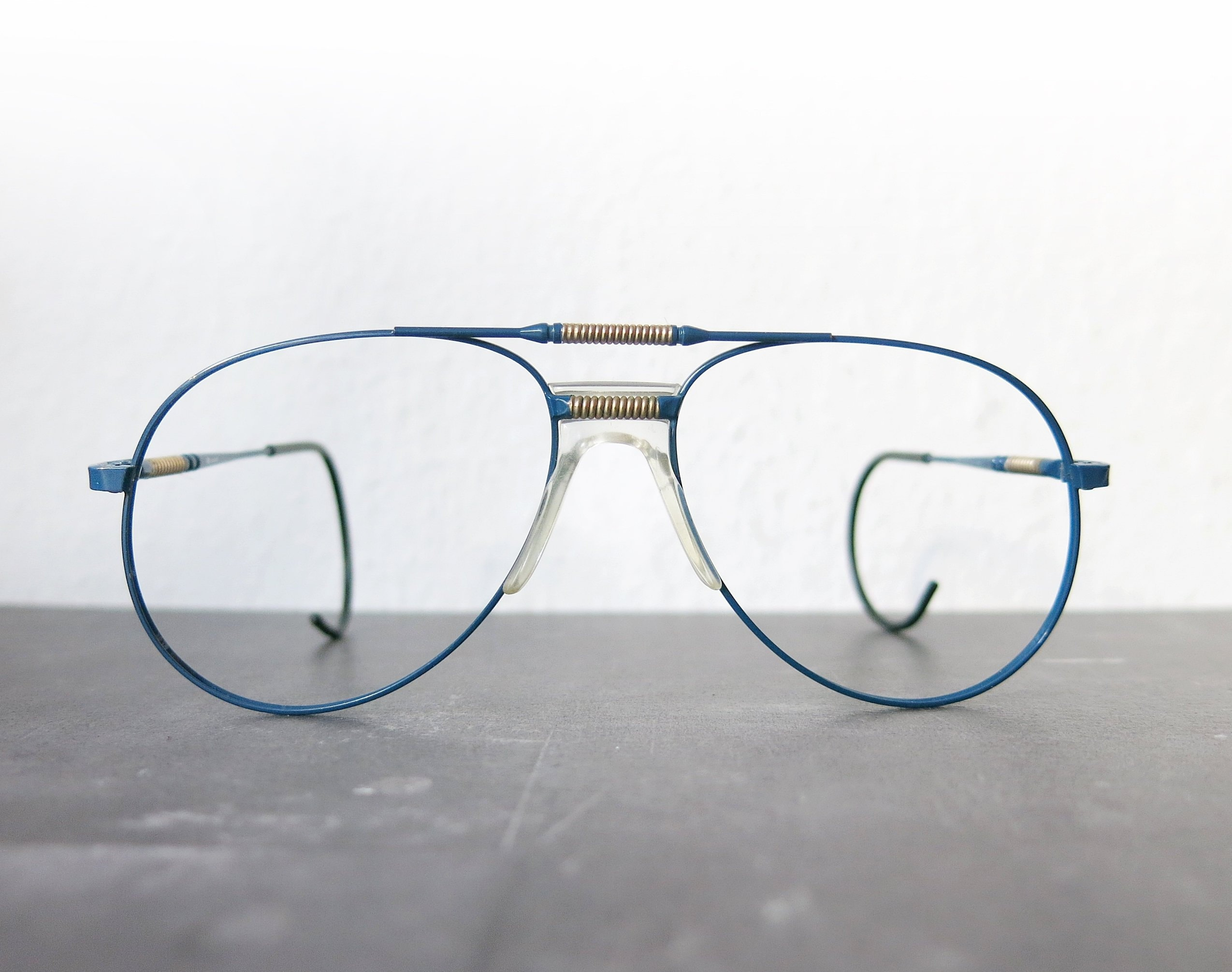 Actuell couture, glasses frame, aviator form, 80's