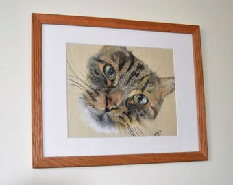 "Pet drawings, 8""x10"", Animal portraits, bespoke portraits, memorial keepsake, custom pet portraits, cat portrait, dog portrait, horse art"