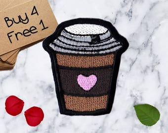 Coffee Patches Breakfast Patches Iron On Patch Sew On Patch Patches For Jackets