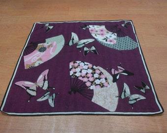 Vintage Hanae Mori Handkerchief Hanae Mori Scarf