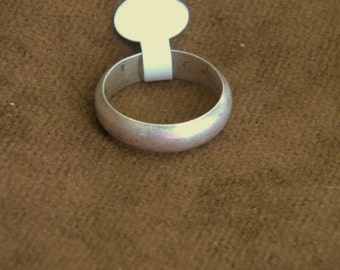 Sterling Silver Band - Size 9 1/4