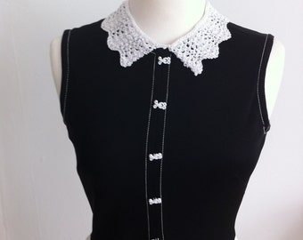 Lacy Detachable Collar Knitting Pattern (PDF File)