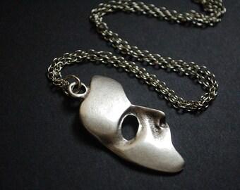 Phantom of the opera mask necklace