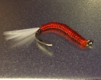 Bloodworm for fly fishing