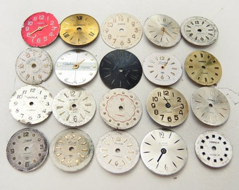 Small Watch Faces - set of 20 - c126
