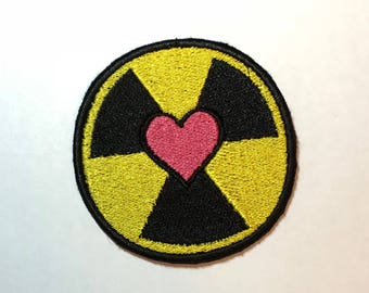 Holtzmann Patch: nuclear love symbol - Ghostbusters