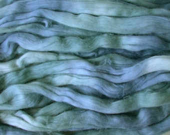 Cotton roving for spinning - Sky Tonal, 1 oz