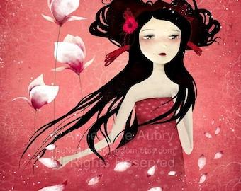 Brise Parfumée - Deluxe Edition Print - Whimsical Art