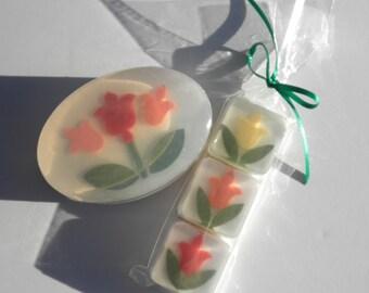 Tulpe-Bad und Schönheit-Geschenk-Set