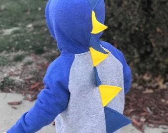 Girls and Boys Dinosaur hoodie