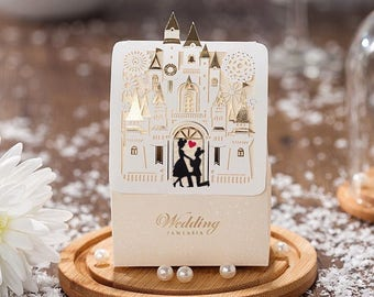 New! Disney wedding candy favor gift boxes Mouseclub Love //Package 50pieces per set