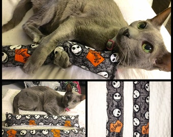 """Nightmare Before Christmas Cat Toy, 13"""" Kitty Kickers Toys, Nightmare Before Christmas, Catnip Kick Stick Toys, Cat Catnip Toy, Cat Toys, Ca"""