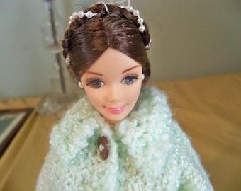 beautiful brunette barbie 1976