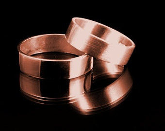5mm copper ring, Men's copper wedding ring, Women's copper wedding, ring copper ring arthritis ring brushed copper ring polished copper ring