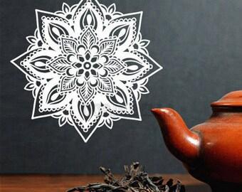 Mandala Decal, Mandala Vinyl Decal, Mandala Sticker, Mandala Vinyl, Wall Vinyl, Wall Decal, Car Decal, Wall Art, Car Vinyl, Mandala Art