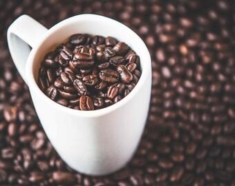 Cup O' Joe - Artistic Photography - Rustic Home Decor - Coffee Photo Print
