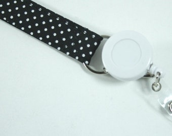 retractable badge reel lanyard component ADD ON ONLY - must purchase lanyard separately