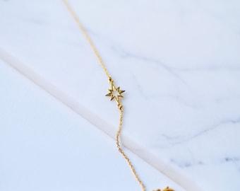 Tiny Star bracelet, Star bracelet, Simple bracelet, Minimalist, Tiny bracelet, Layered bracelet
