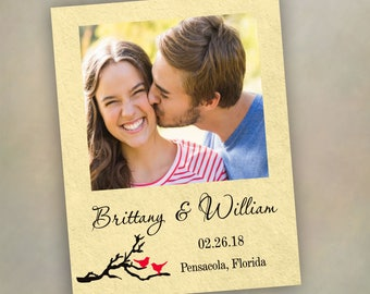 Save the Date Magnets Custom Magnets with cards Save the date Wedding Favor Wood Magnets  personalized made to order  custom order