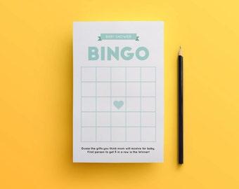 Baby Shower Bingo / Printable / Baby Shower / Party / Soon to be mom / Bingo Card / Printable Bingo / BB01