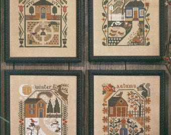 Prairie Seasons by Prairie Schooler Counted Cross Stitch Pattern/Chart
