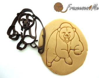 Grizzly Bear Cookie Cutter/Multi-Size