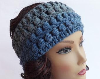 FREE SHIPPING Crochet headband women, Knit Warm Headband, Ear Warmer, Chunky Headband, Head Wrap, Women's Winter Headband, Winter Headwear