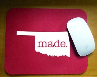 Oklahoma  OK  'Made' Computer Mouse Pad