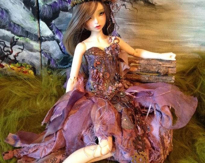 Juniper Berry Fairy for Fairyland Minifee Aline and Fairyline BJD Dolls