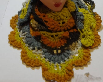 Crocheted Shawl/Scarf