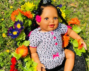 Biracial reborn doll /AA Reborn Babydoll