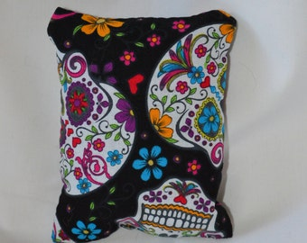 Day of the Dead Sugar Skull Cat Toy - Ready to Ship