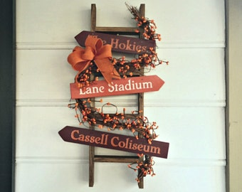 Virginia Tech, Hokie Decor. Hokies, Virginia Tech Hokies. VT. Maroon and Orange. Hokie Nation. Va Tech. Lane Stadium.