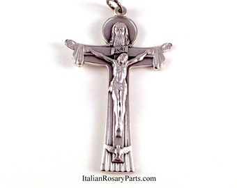 Holy Trinity Rosary Crucifix | Italian Rosary Parts
