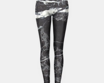 Black Marble Leggings Grunge Clothing funny fun tumblr hipster swag grunge goth punk new retro vtg
