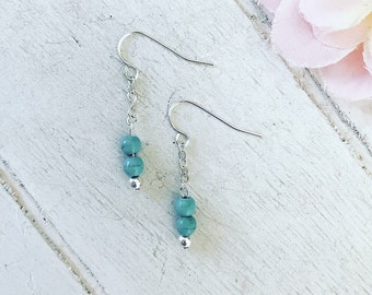 Jamie Turquoise Earrings /Dangle Earrings / Gift for Her / Boho Earrings / Boho Jewellery / Ethnic Jewellery / Ethnic Earrings