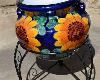 Talavera Small flower pot
