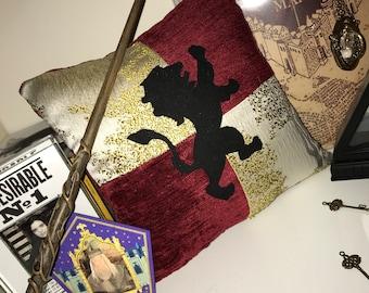 Handmade wizard House themed decorative cushions