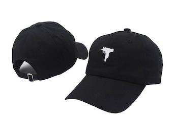 Uzi Dad Hat Embroidered Snapback Baseball Cap