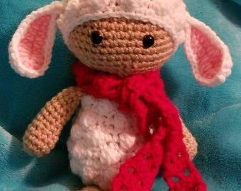 Lilly the Lamb crochet pattern