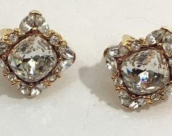 Oksana Bailil Ice Crystal Earrings