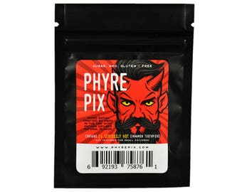 Phyre Pix 24 pack - Vacuum Infused Cinnamon Flavored Toothpicks  -  We dare you to try 'em!