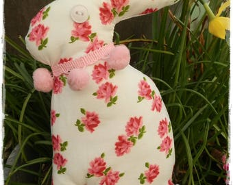 Spring fabric Easter Bunny