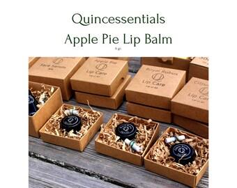 Apple Pie Lip Care - 100% natural lip balm by Quincessentials