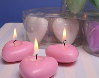 Heart Shaped Floating Candles (5)