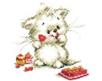 Cross Stitch Kit beginner / children / animal
