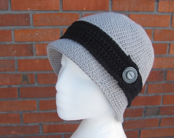 Woman Crochet Hat, Handmade Hat, Crochet Cloche Hat, 1920s Style Hat, Spring Summer Hat, Gift for Her, Vintage Style Hat