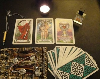 3 Question Mini Tarot Reading (via Typed Email)