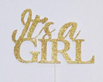 It's a girl | Cake Topper | Baby Shower cake topper
